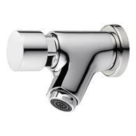 Light Push Self-closing Wall Mount Faucet TWS - 2305