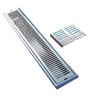 Straight SS Channel Pk520A, Straight Floor Shower Drain